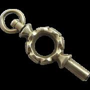 15k 15ct gold watch key pendant antique Victorian c1840.