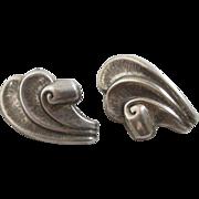 Sterling silver 'Danecraft' earrings vintage c1970.