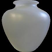 White Steuben Vase