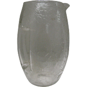 Moser Glass Water Pitcher