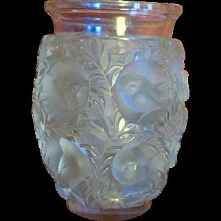 Lalique Bagatelle Vase