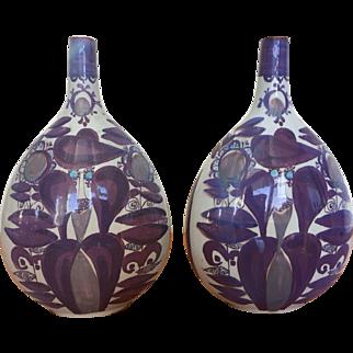 Royal Copenhagen Kari Christensen  stylized vases 1960s