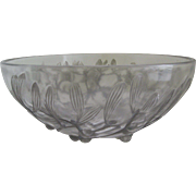 Rene Lalique Bowl, Model 3200 Gui, Intro 1921