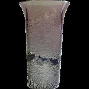 Barbini Murano, Scavo Purple vase