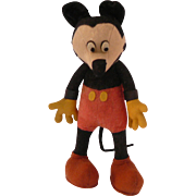 1930s French Mickey Mouse Doll