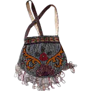 1920's Art Deco Flapper Beaded Bag
