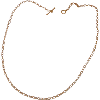 Cathy Waterman 18k Gold Lace Necklace