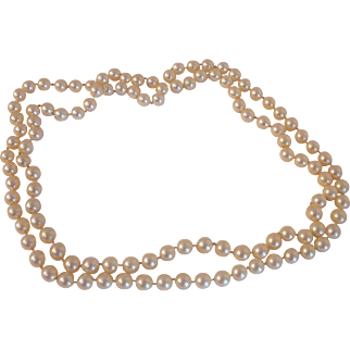 """Cultured Pearl 36"""" Necklace"""