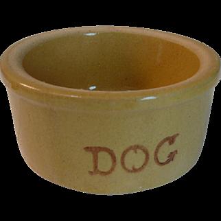 Roseville Dog Dish