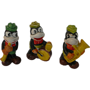 1930's Flip the Frog Musician Set of Three