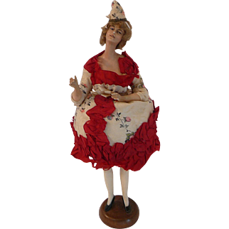 Lili  Baitz French Bisque Fashion Doll Candy Dish
