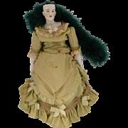 Antique German China Fashion Doll