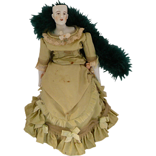 Antique German China Fashion Doll