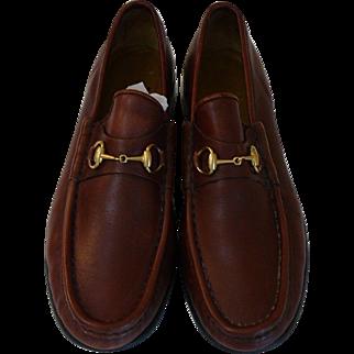 Vintage Gucci Size 9 Loafer Flats