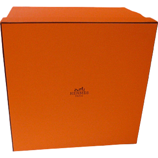 Hermes Orange Empty Box - Great for Minis