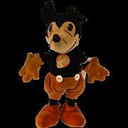 "1930s Steiff Micky Mouse 14"""