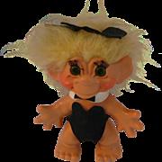 """Thomas Dam Denmark Vintage Troll Doll 1964  10"""""""