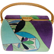 Vintage Emilio Pucci Velvet Evening Bag