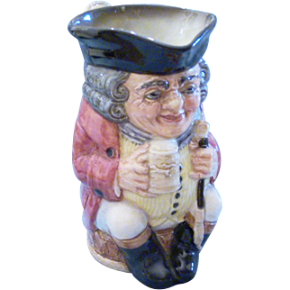 "Royal Doulton.""Jolly Toby"" #6109, Toby Jug"