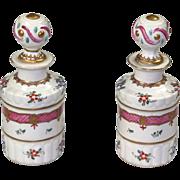 Pair of Edne Samson & Cie Cologne Bottles