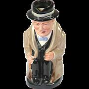 Royal Doulton Toby Jug - Winston Churchill D6171
