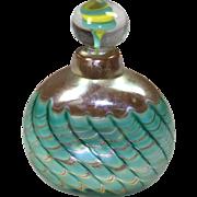 Blown Art Glass Perfume Bottle