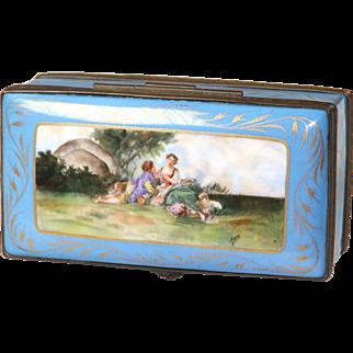 Chateau des Reves Porcelain Casket Box