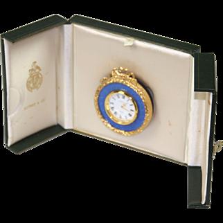 Vintage Kitney Table Clock, Cased