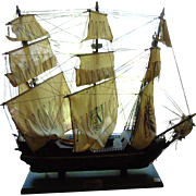 Wooden model Spanish galleon