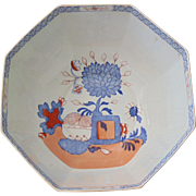 Imari patterned center bowl