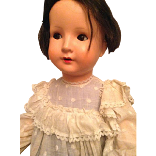 29'' Antique French doll with flirty eyes!!