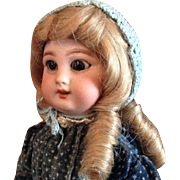 Antique DEP walking doll with mechanism - ca. 1890/1900