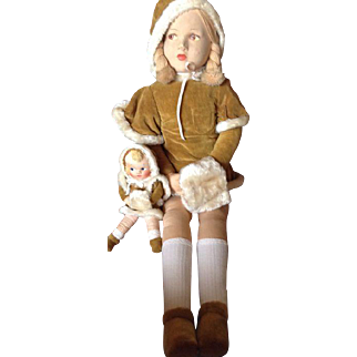 Dean's Rag Book Company dolls - 1930.