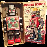 Horikawa Machine Robot with original box, in good working condition. 1950/1960.
