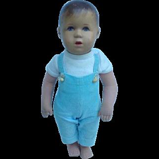Käthe Kruse boy doll.