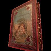 Rare antique book from 1898. Livre D'Images Parlantes
