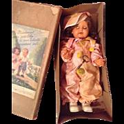 Petitcollin Collinette mechanical character walking doll  - 57 1/2.