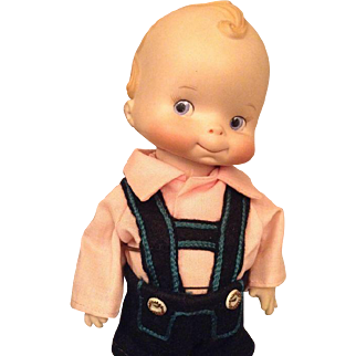 Gorgeous character boy doll with a really cute face!