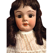 Lovely antique French Bebe doll 27,5 inch tall!
