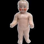 Rare antique Frozen Charlie doll - ca. 1900/1920 16,5 inch!!
