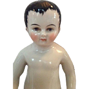 Rare antique Frozen Charlie bathing doll 1045 Germany