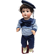 Beautiful character doll from Schützmeister & Quendt.