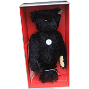 Steiff 406829 Collector's Replica black Teddy Bear 1912