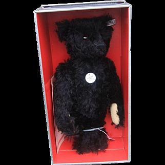 Steiff 406829 Collector's Replica black Teddy Bear 1912