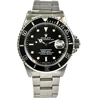 Rolex Submariner 1991 Stainless Steel 40mm