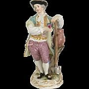 Meissen Figurine of a Gardener