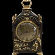 Black Chinoiserie Bracket Clock - Mappin & Webb
