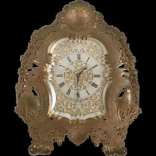 Bronze Strut Clock