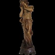 Austrian Art Nouveau Ceramic Figure
