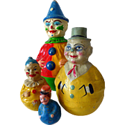 Schoenhut Toy Clown Roly Rolly Poly Germany Large